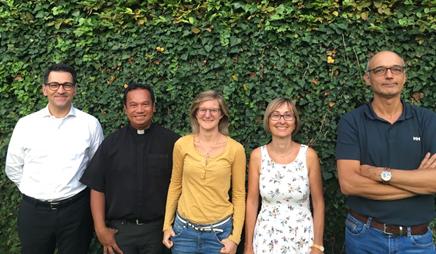 Foto di gruppo del consiglio parrocchiale 2020