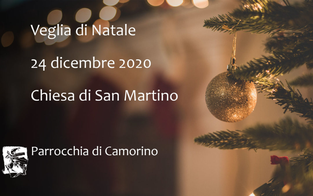 Locandina Veglia di Natale 2020